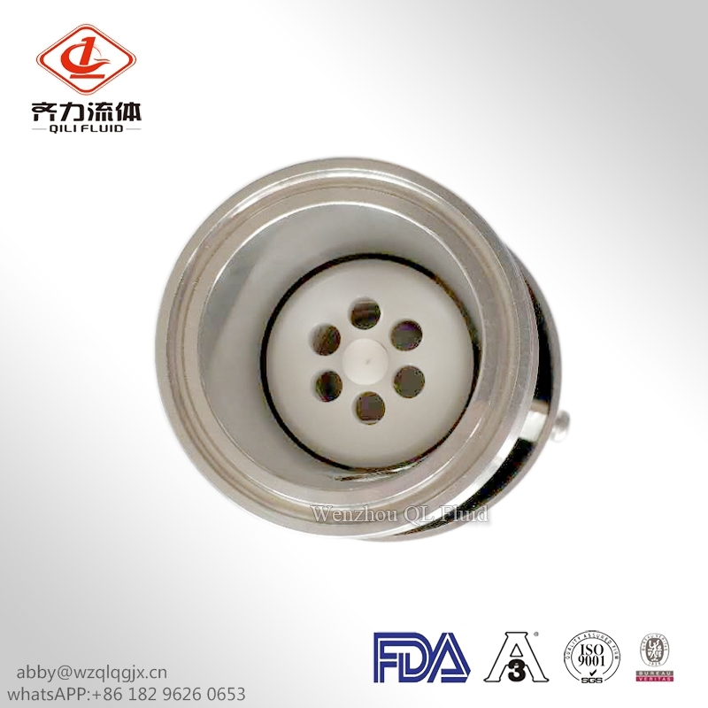 Sanitary Stainless Steel Quick-Install Check Valve