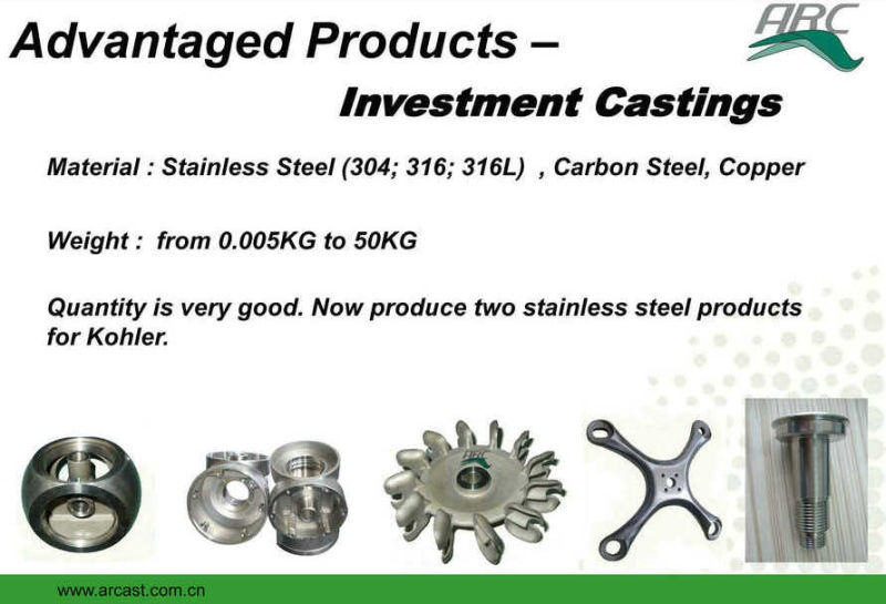 OEM Stainless Steel 304 Investment Casting Pipe Hand