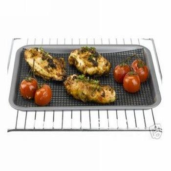 High Temperature Resist Non-Stick Pizza Mesh Tray