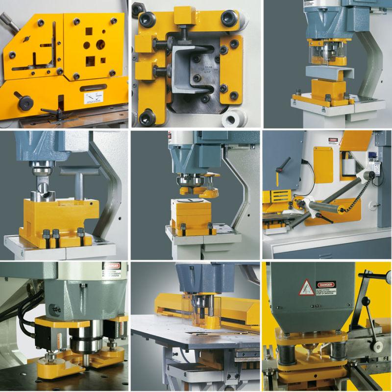 Hydraulic Punch and Shear Machine Ironworker