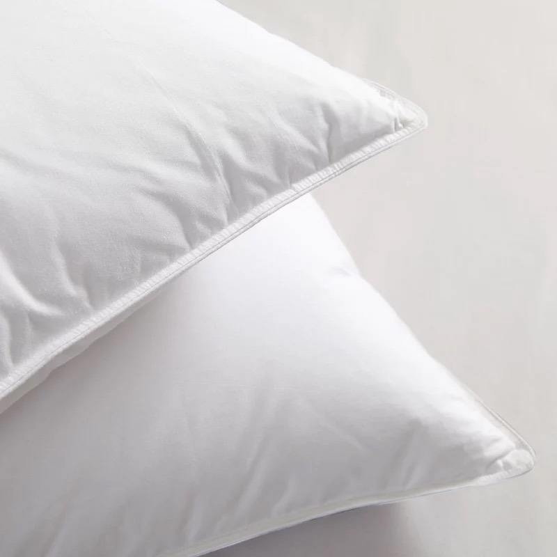 Super Soft Hotel Cotton Pillow with 1200g Microfiber Filling Manufacturer