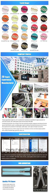 Wholesale High Quality Custom Metal Zipper 3#