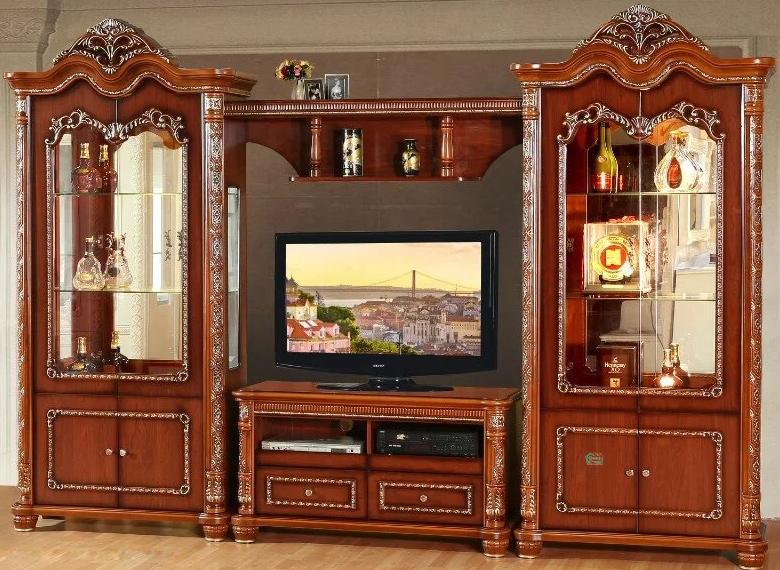 TV Stand with Wine Cabinet for Living Room Furniture (312)