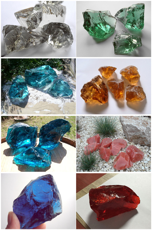 China 2016 Hot Sale Decorative Glass Rocks