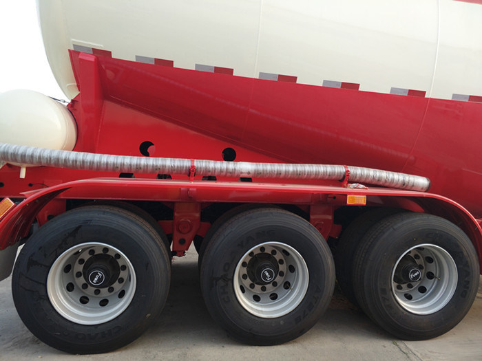 Truck Trailer Bulk Cement Tanker Semi Trailer From Chinese Factory