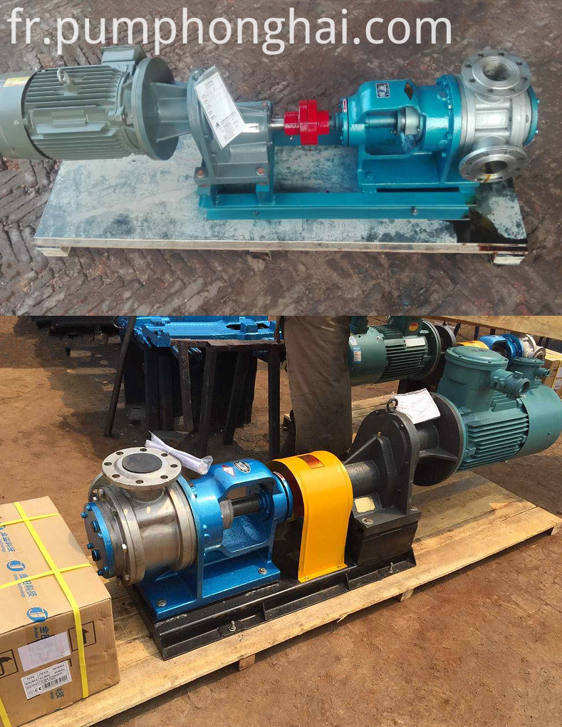 NYP type high viscosity resin gear rotor pump