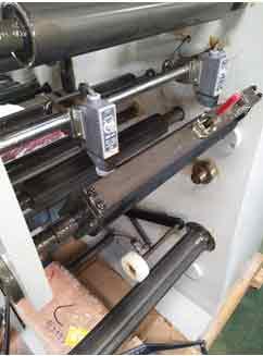Barcode rotary die cutting machine
