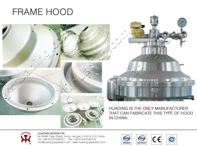 Disc Centrifuge for Vegetable Oils and Fats Refining From Huading Separator