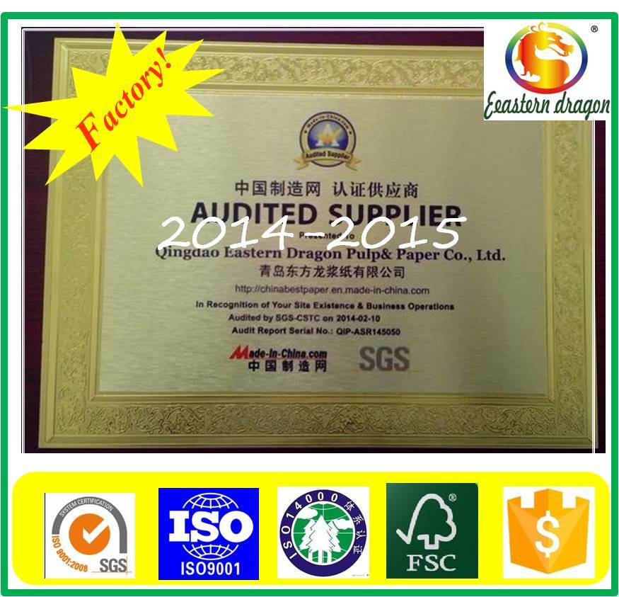 190g Double PE Coated Paper for Make Coffee Cup