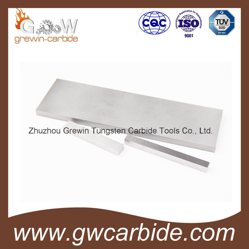 100% Raw Material Tungsten Carbide Plate for Milling