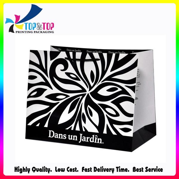 Fashion Offset Print Folding Custom Design Paper Bag