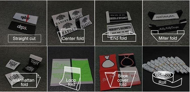 Customized Main Label Clothing Woven Label