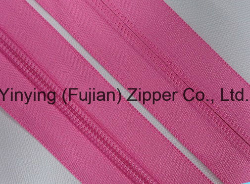 General Quality Various Color Long Chain Nylon Zipper