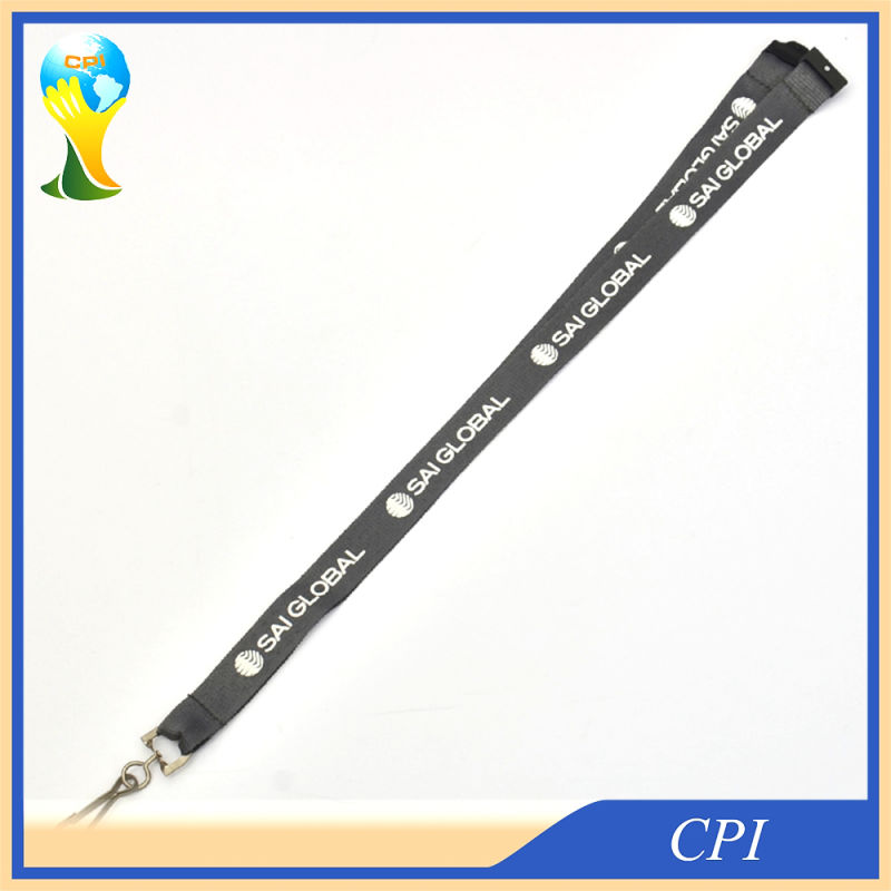 Standard J Hook Pplyester Lanyard with Quick Buckle