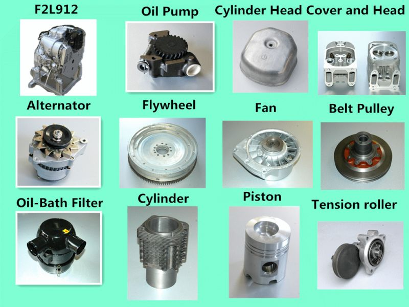 Oil Filter of Deutz Engine Fl912