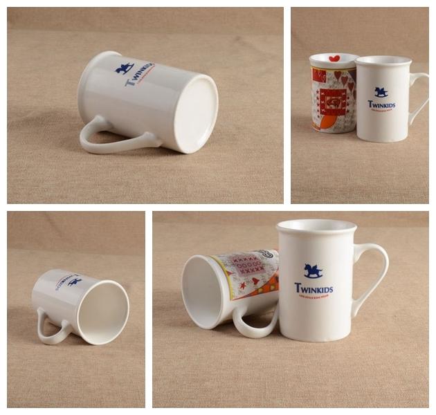 High Quality Ceramic Coffee Mug with Customized Decal