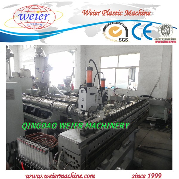 6-10mm Thickness of PP Grid Hollow Sheet Making Machine Line