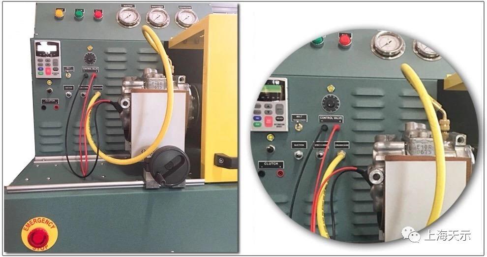 A/C Compressor Test Machine, Control Valve Tester