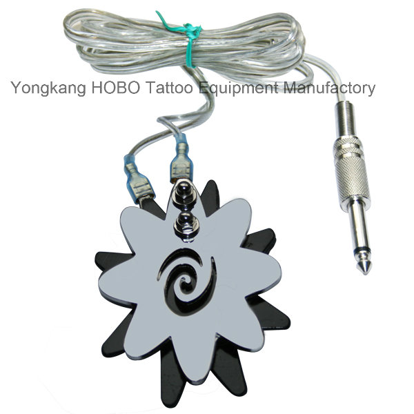 Silicone Tattoo Power Supply Clip Cord for Machine