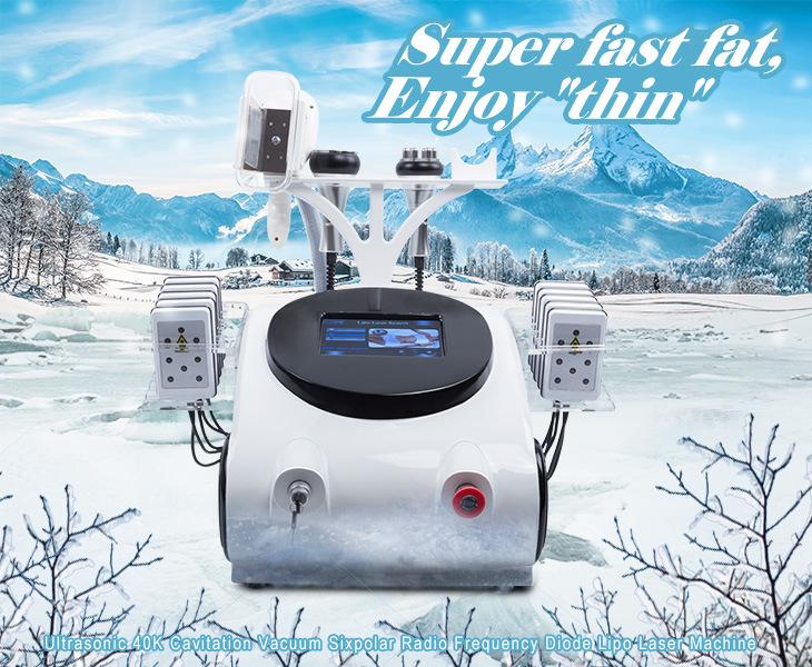 Wholesale Lipo Laser Slimming Vacuum Cavitation Cellulite Reduction RF Skin Tighten Machine