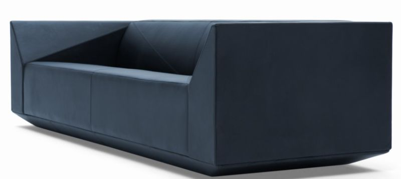 Diamond Shape Luxury New Modern Leather Sofa
