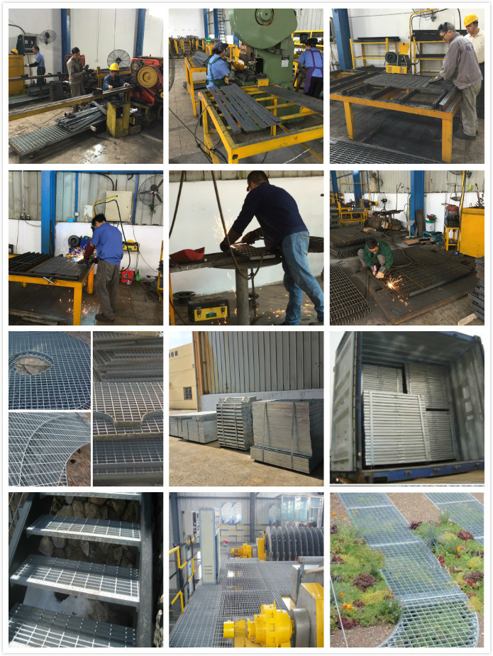 Galvanized Painted Stainless Steel Grating for platforms