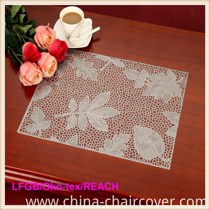 PVC Pressed and Cutout Placemat (JFCD-005)