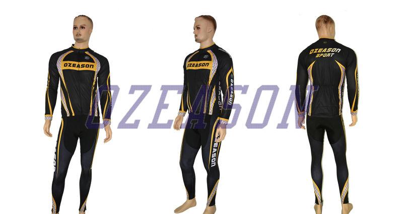 Fashion Men's Short Sleeve Team Sky Sublimation Cycling Jersey Set