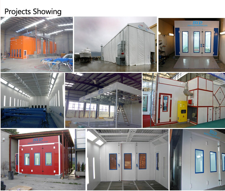 Used Large Spray Booth for Sale/Truck Painting Booth/Bus Baking Oven