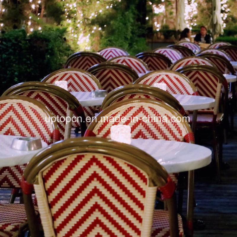 Outdoor Garden Chair Restaurant Cafe Aluminum Rattan Chair (SP-OC359)