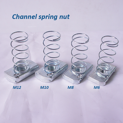 China Manufacturer High Quality Channel Spring Nut