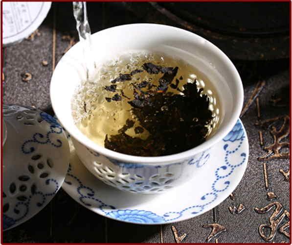Grade 4th Chin Brick Tea