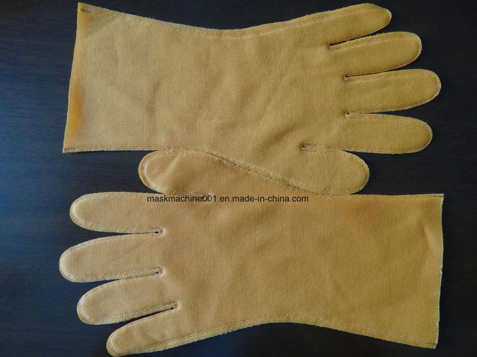 Automatic Velvet Glove Making Machine