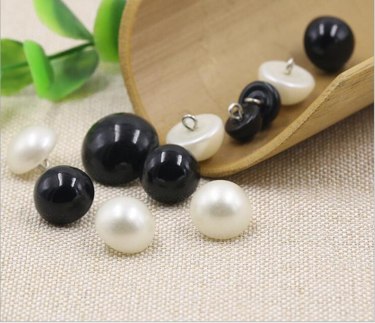Epoxy Plastic Mushroom Pearl Fancy Buttons for Garment/Bags/Shoes