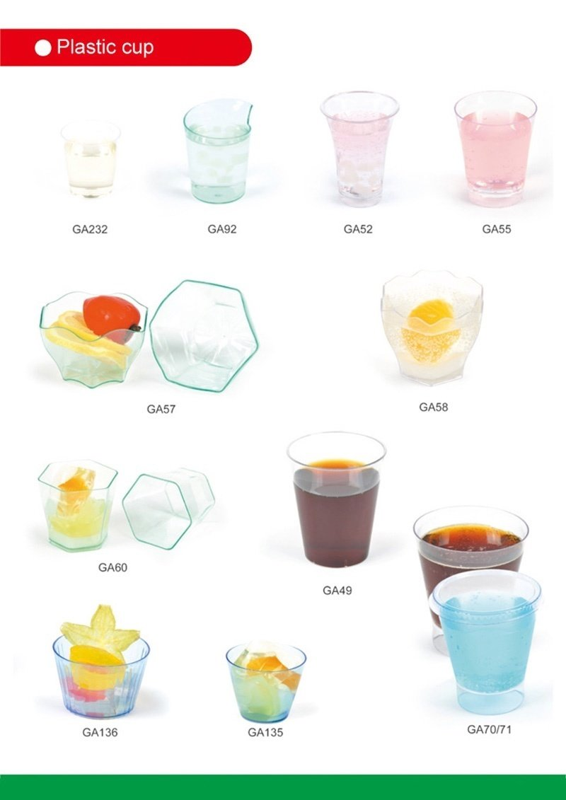 PP/PS Plasic Cup Disposable Cup 4 Oz