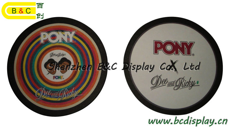 Gift Paper Mat, Beer Mat, Coaster with Your Logo and Artwork (B&C-G104)