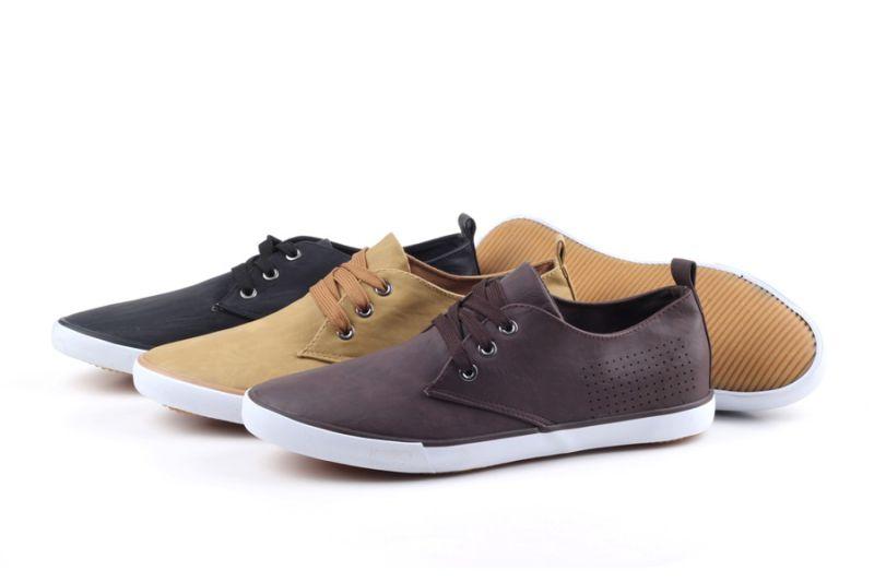 Men Shoes Leisure Comfort Men Canvas Shoes Snc-0215007