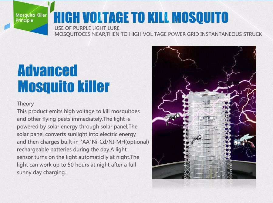 Outdoor Solar Mosquito Trap