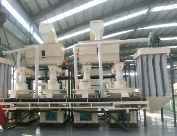 Wood Pellet Production Line From Hmbt with High Quality