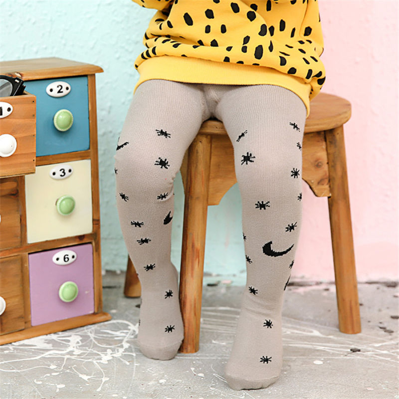 Star Moon Designs Kid Cotton Tights/Pantyhose Fancy Designs Good Quality Little Girl Dance Tights
