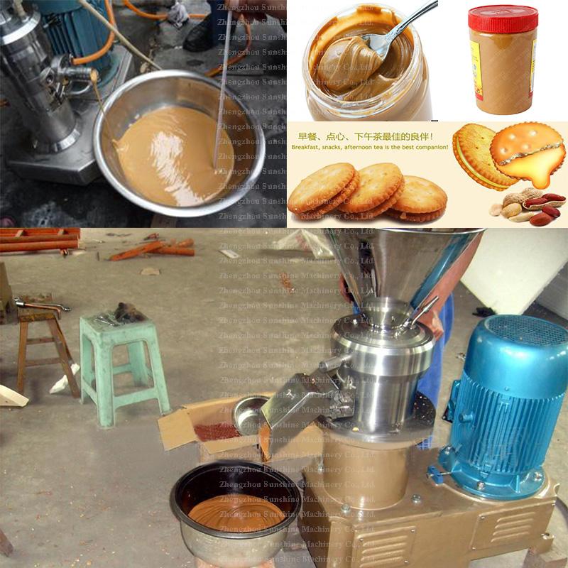 Good Quality Shea Peanut Butter Sesame Paste Colloid Mill