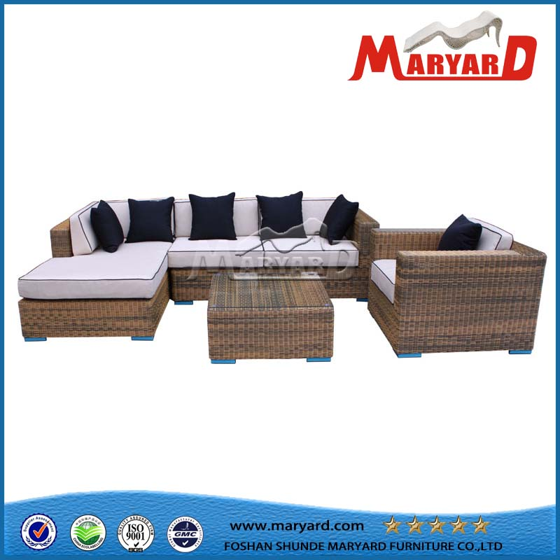 PE Rattan Garden Furniture Sofa