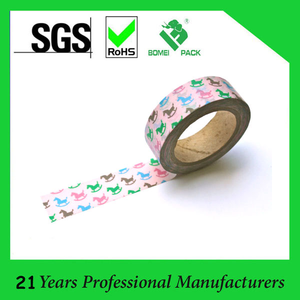 Hot Sale Custom Decorative Paper Tape (KD-165)