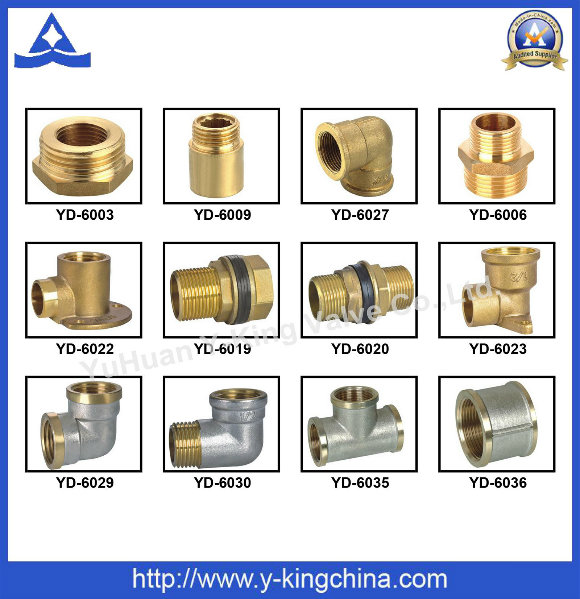 Forging Brass Compression Fitting Hose Adapters (YD-6001)