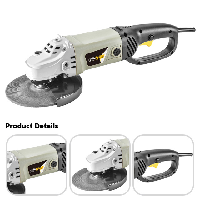 2200W 7 Inch China Electric Angle Grinder