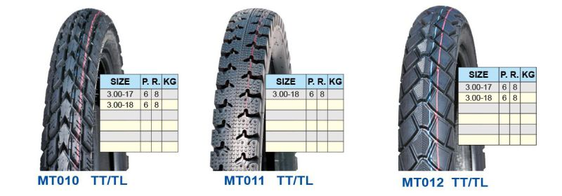 Motorcycle Tyre 4.50-12 5.00-12