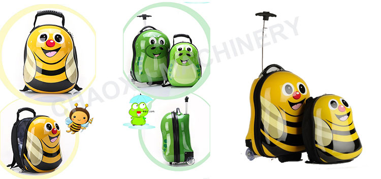 Luggage Telescopic Trolley Bags Making Machine, Plastic Sheet Extruder Machine