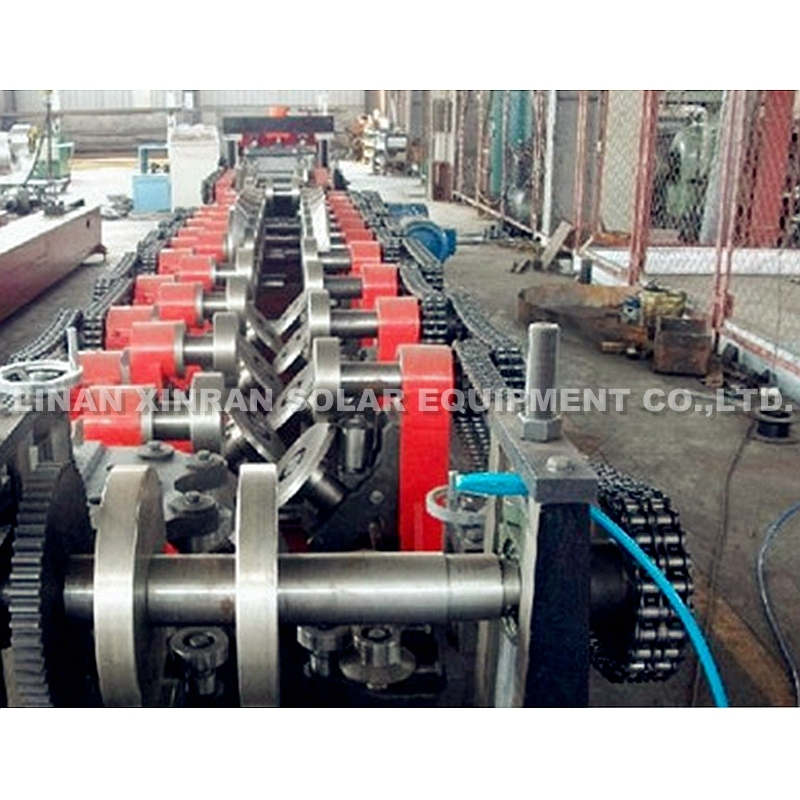 C & Z Purlin Cold Roll Forming Machine