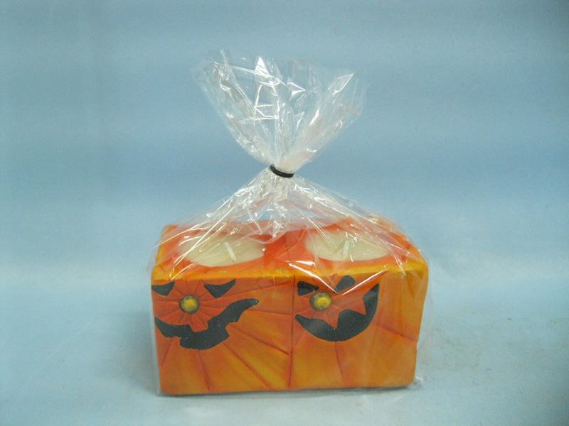 Halloween Candle Shape Ceramic Crafts (LOE2369-11.5z)