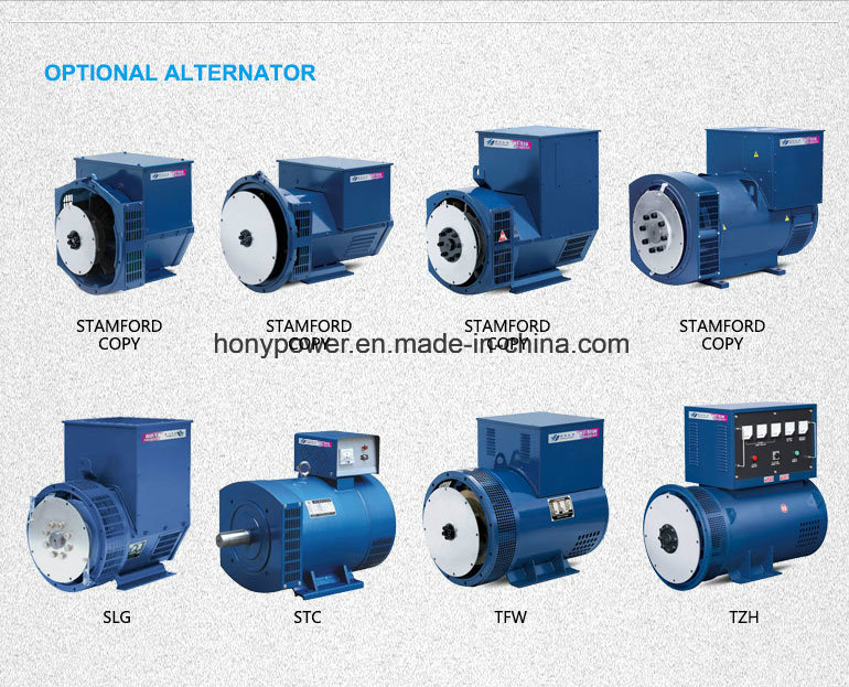 10kw Three Phase Brush AC Sychronous Alternator
